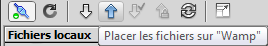 Envoyer le fichier sur le serveur dreamweaver