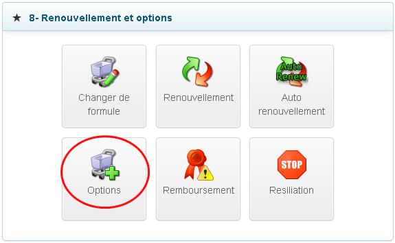 Options de support pour hébergements web mutualisés