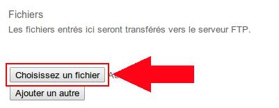 Comment publier un site avec WebTransfert ?
